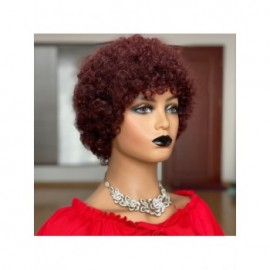 Short Afro Kinky Curly Wig...