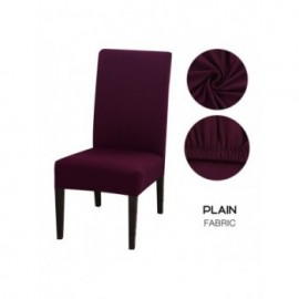 Solid Color Chair Cover...