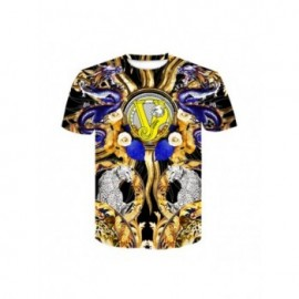 Baroque men's Tshirts with...