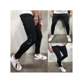 Gradient Color Ripped Jeans...
