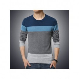 Casual Men's Sweater ONeck...
