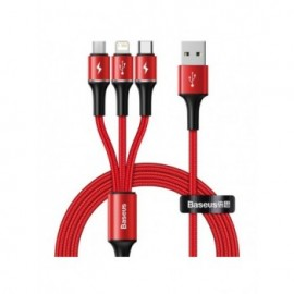 Baseus 3 in 1 USB Cable for...