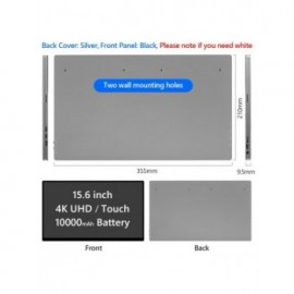 156 inch 4K Portable Touch...